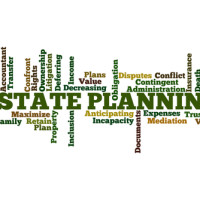 Sign for estate planning