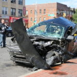 A fatal car wreck