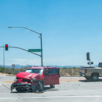 truck in accident