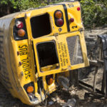 Indiana school bus accident